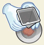 粉体が目詰まりを起こさない、あっという間に粉落ちさせる不思議な表面改質技術!!