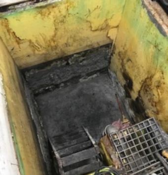 廃液,貯水槽,塗装前