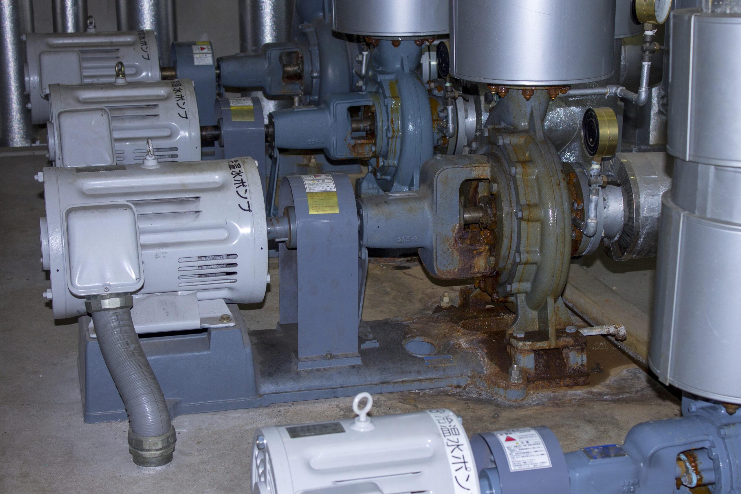 ポンプ 錆 故障 水処理 液体 工場 現場 メンテナンス 腐食