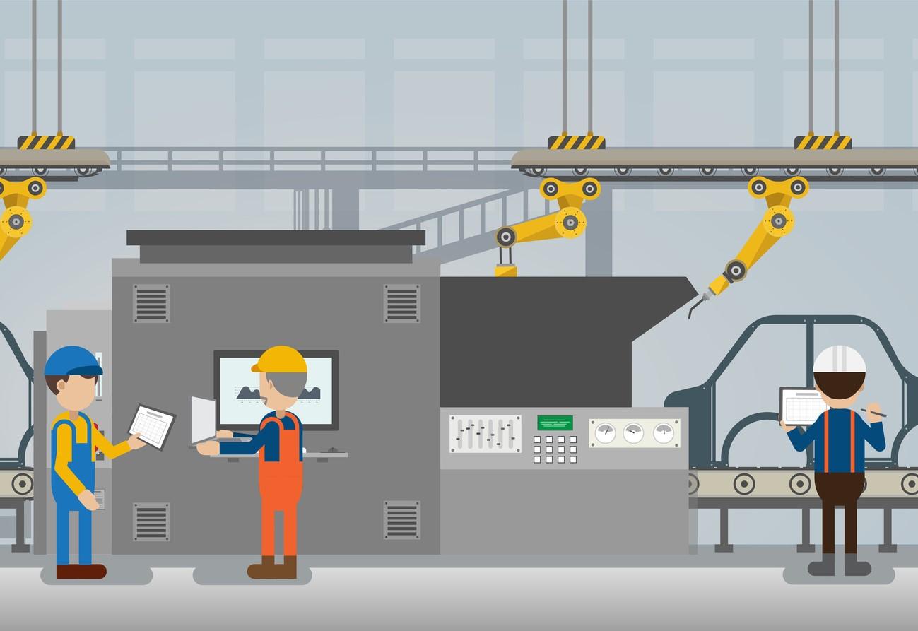工場 自動 ライン ベルトコンベア ロボット